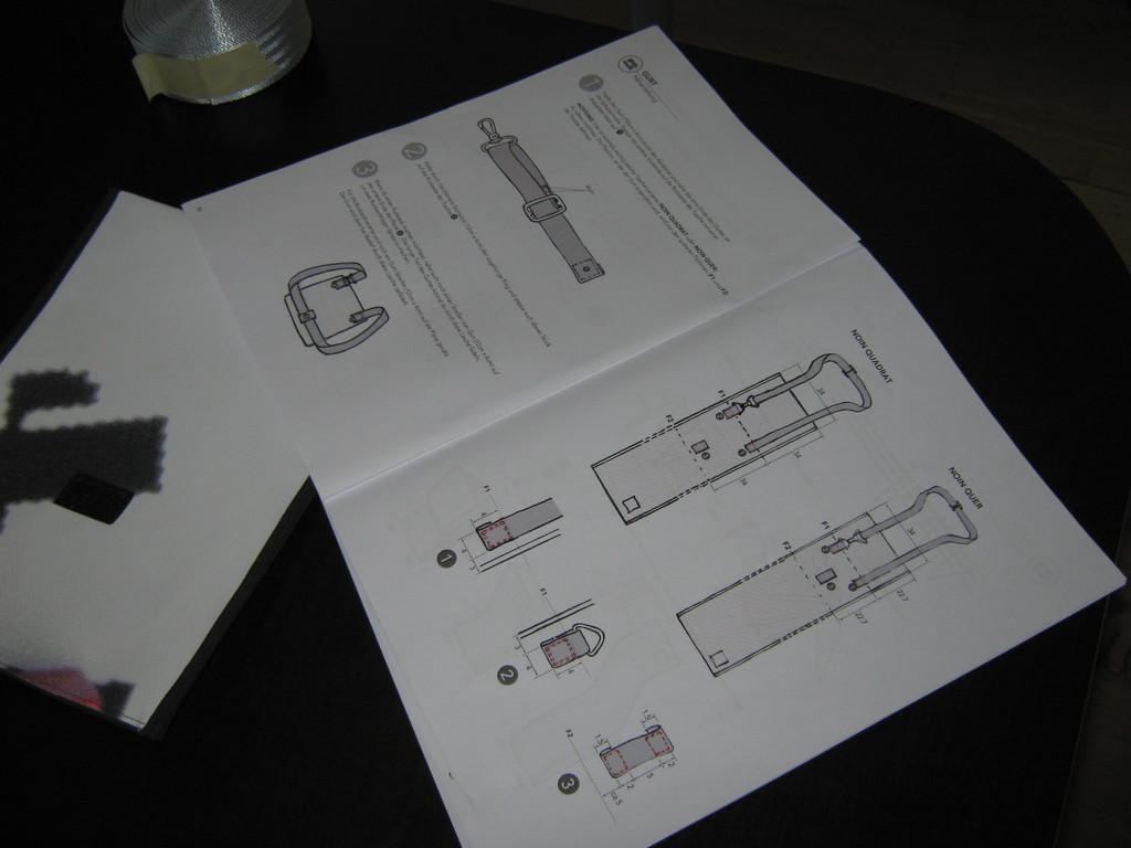 Anleitung Open Design Handtasche