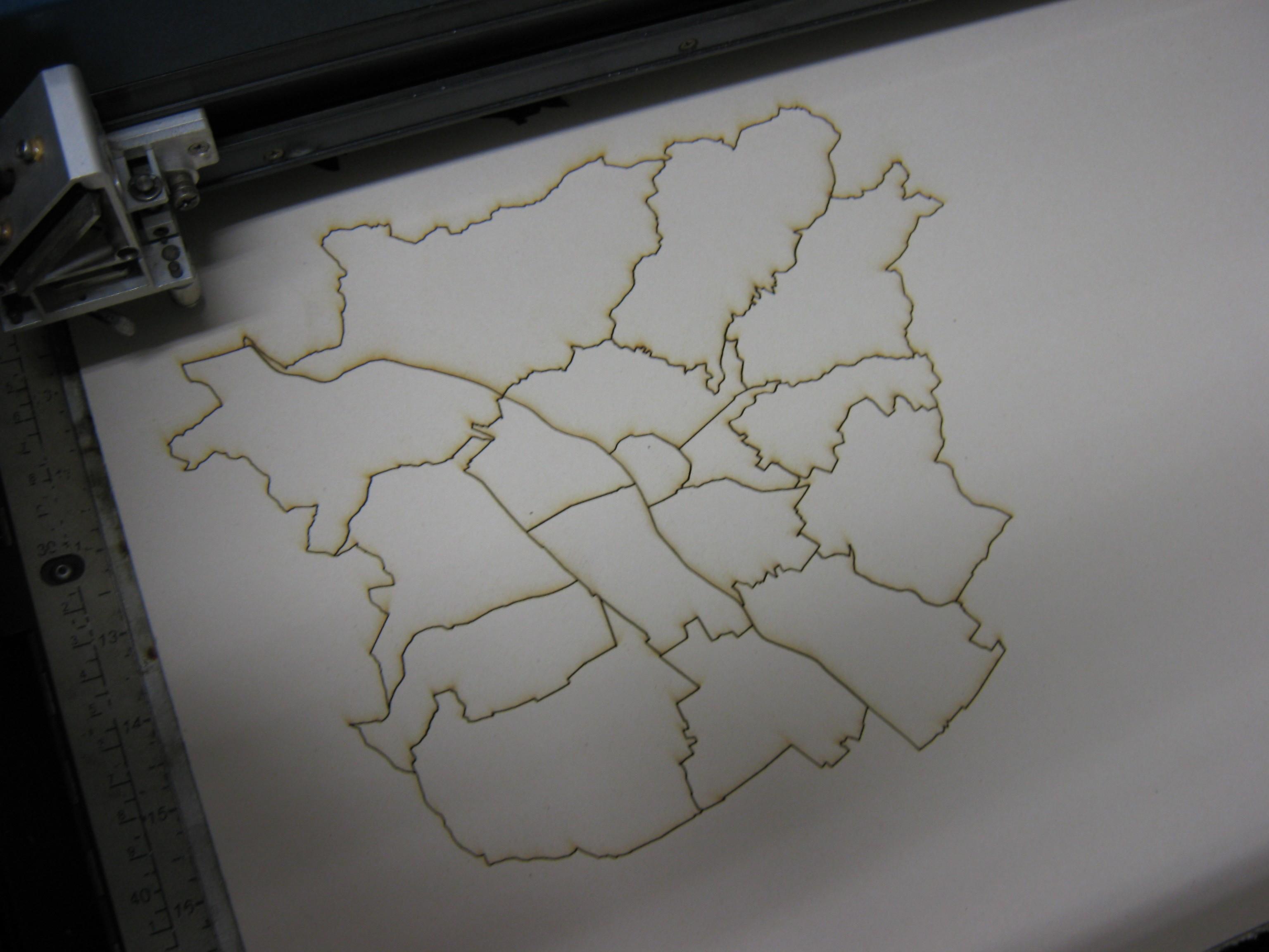 Puzzle Graz Schablone