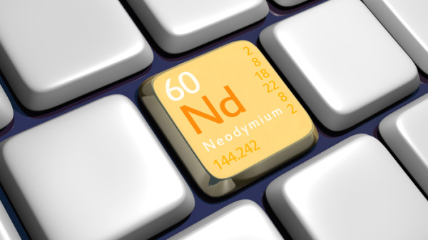 Neodymium; cc by-nc-sa 2.0 Terence Wright