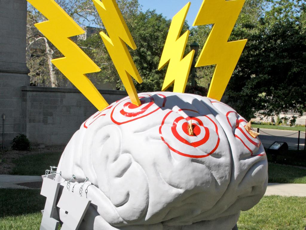 Lightning Brain, cc by-nc 2.0, WFIU Public Radio