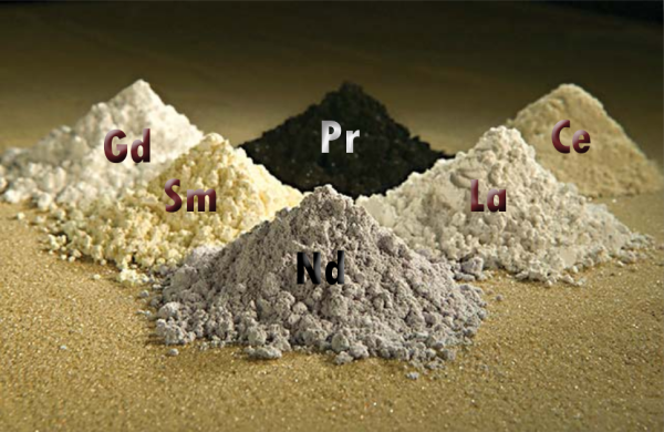 Rare Earth Elements, public domain Peggy Greb, Agricultural Research Center of United States Department of Agriculture