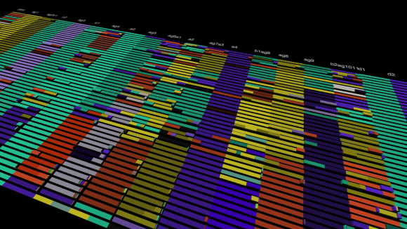 Flu Genome Data Visualizer, cc by 2.0 Jer Thorp